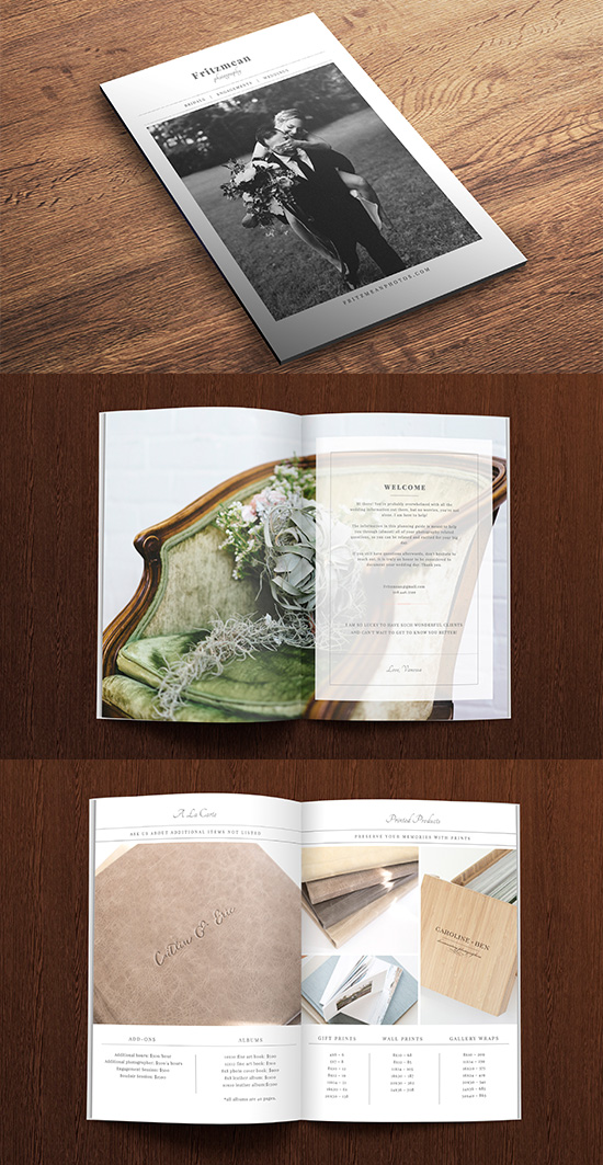 Bridal Brochure Design