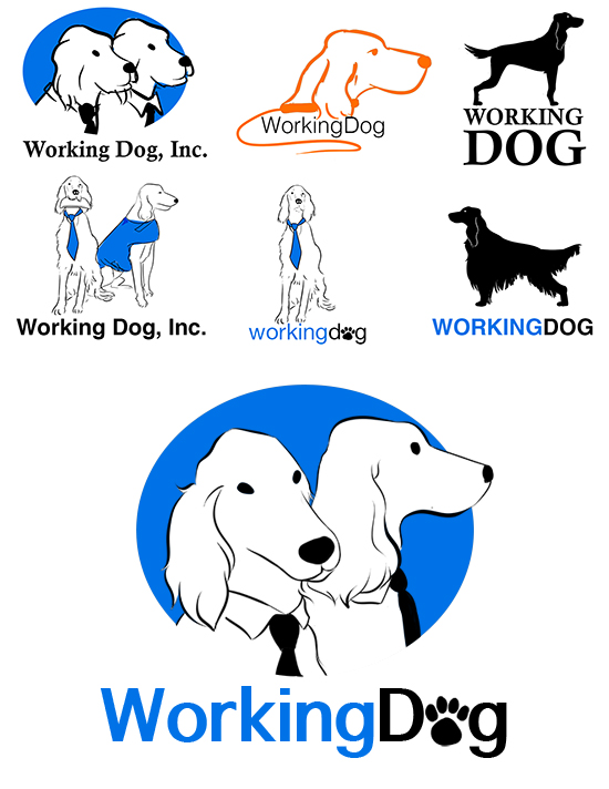 Working Dog Logo