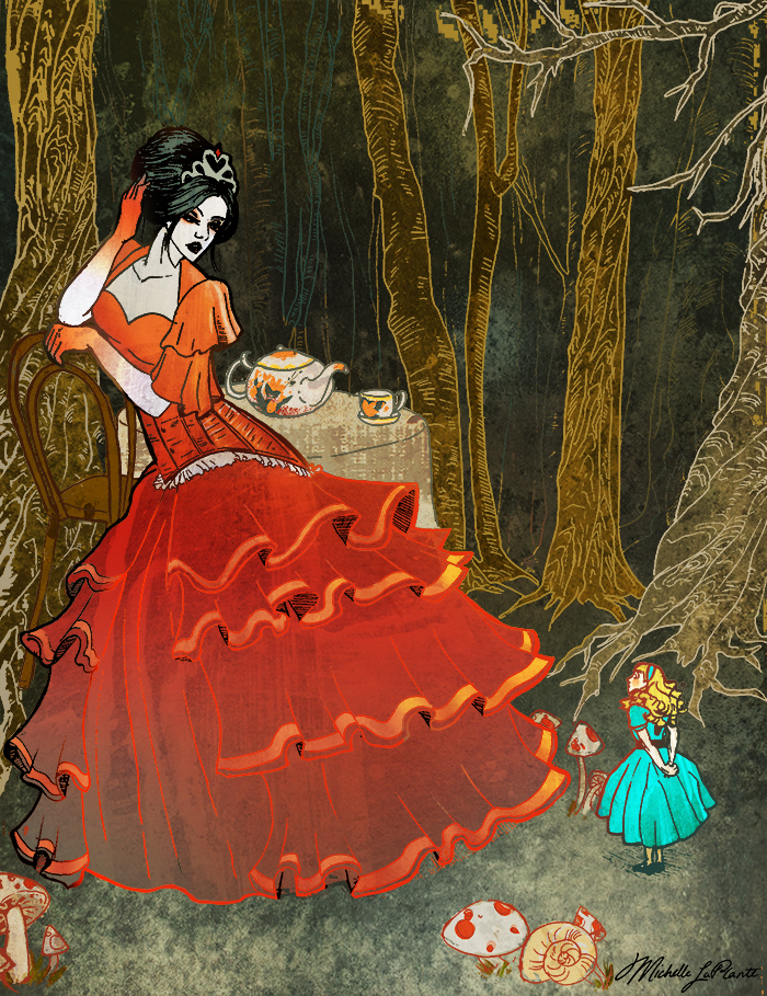 Red Queen and Tiny Alice